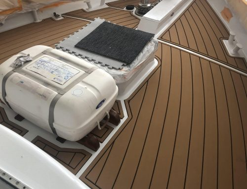 65′ Ketch with new Foam Decking