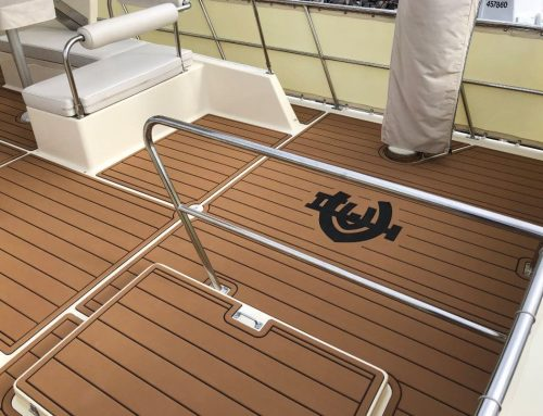 Clipper 36′ with Logo!